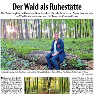 Aus Der Zeitung Neue Westfälische 7.12.2020